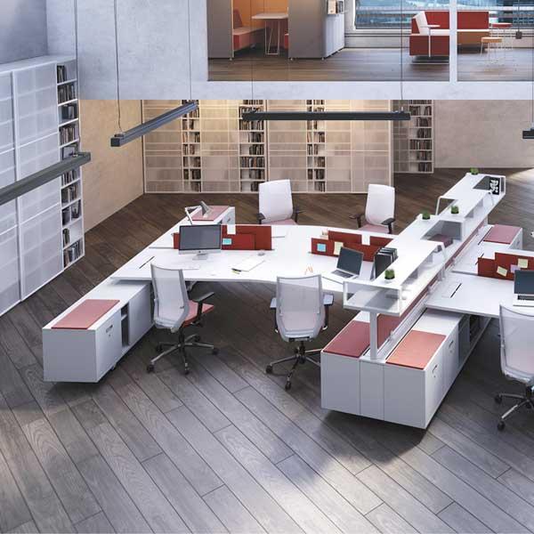 bureau individuel ou open space