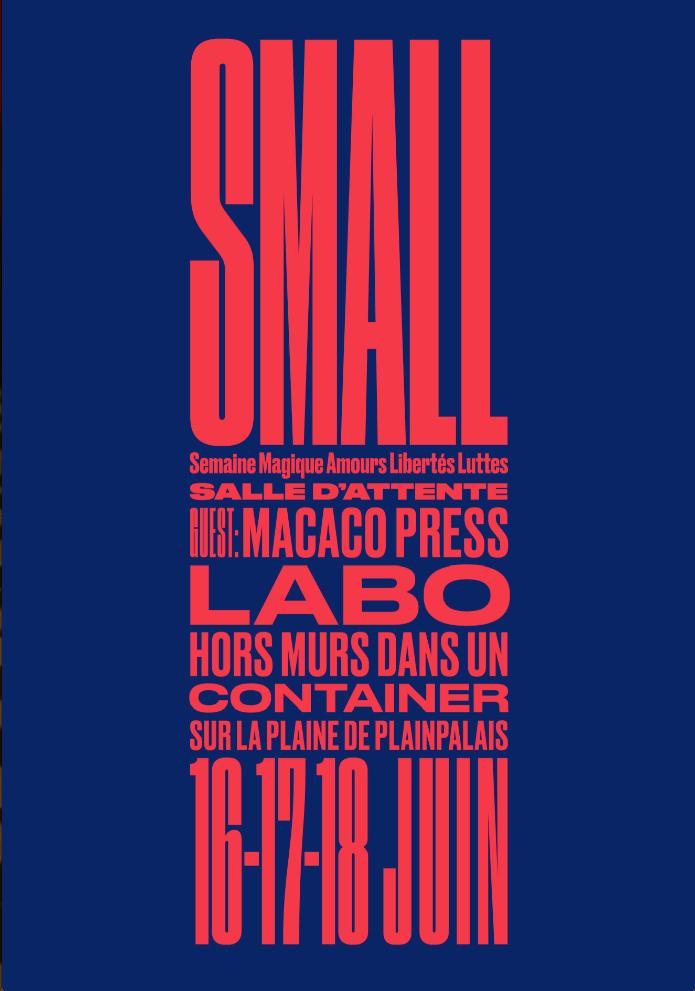 Labo @ BIG – 16 au 18 juin 2017