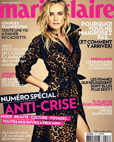 article marie claire 2012
