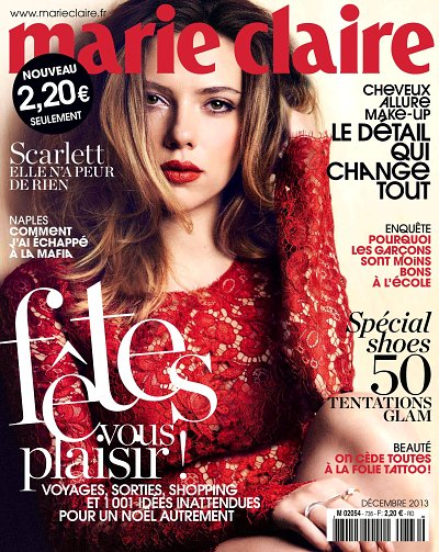magazine marie claire decembre 2013