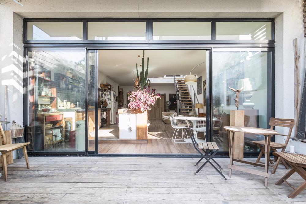 Espaces Atypiques  loft atelier terrasse maison architecte contemporain