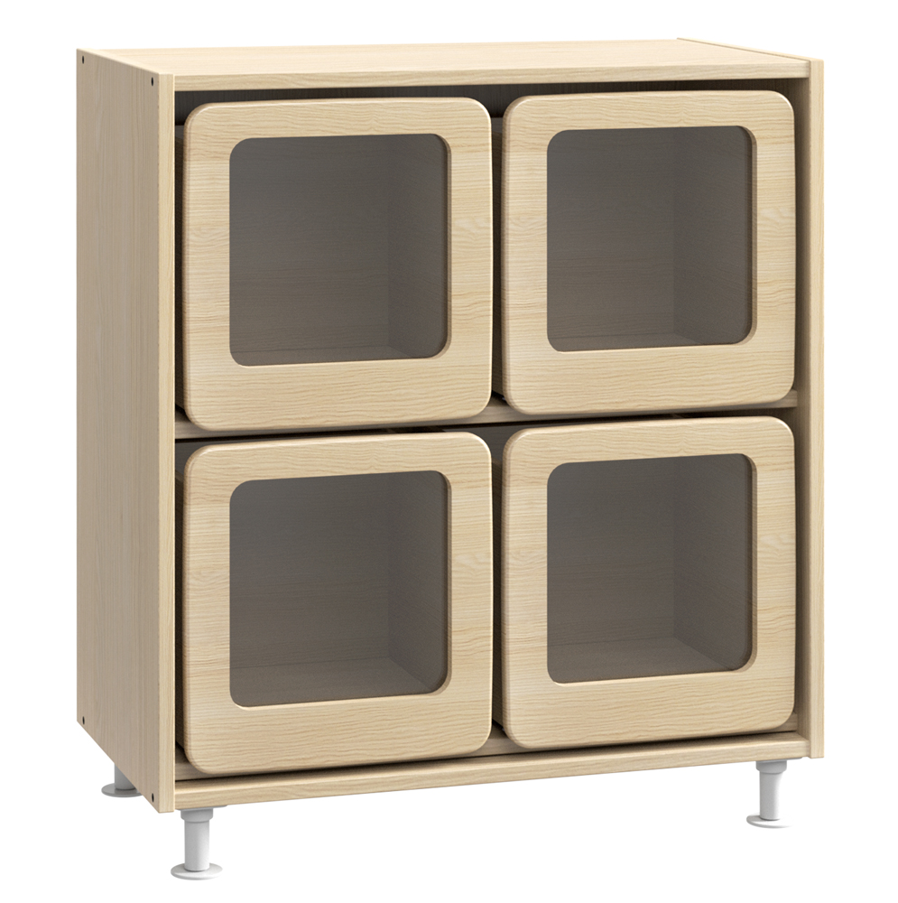 meuble large 4 grands tiroirs ref g527