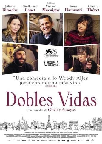 Dobles vidas: dirigida por Olivier Assayas y con Juliette Binoche