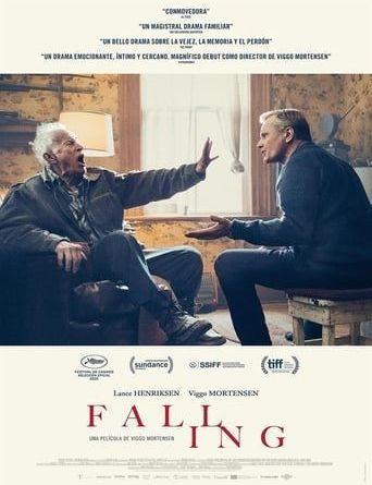 """Portada de la película """"Falling"""""""