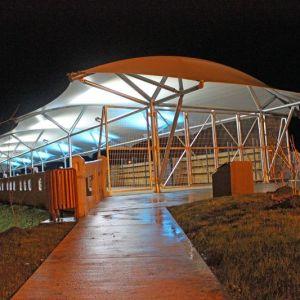 Tensoestructura Habilitación Feria Cultural Ex Puente Comercio