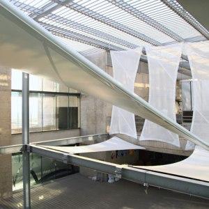 Tensoestructura Terraza Edificio Arrau