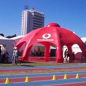 Estructura neumática Vodaphone Inflatable