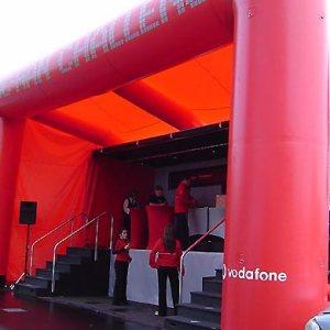 Estructura neumática Vodaphone Truck Inflatable