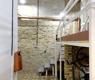 Espacio El Gancho - Coworking Zaragoza Escaleras