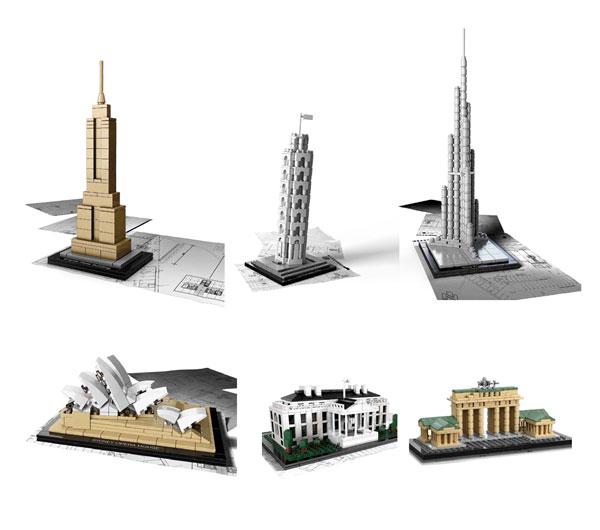 Exposicin de edificios emblemticos construidos con Piezas de LEGO  Espacio Madrid