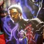 Póster de Black Panther para la SDCC 2017