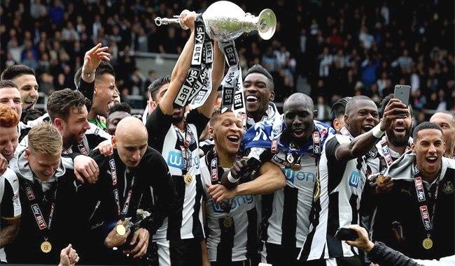 El Newcastle fue el ganador de la pasada Championship