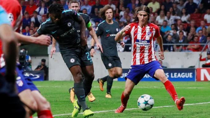 Batshuayi le dio la segunda victoria de la Champions League al Chelsea