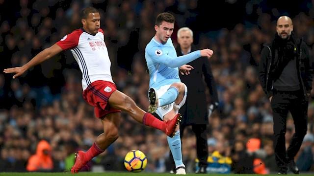 Aymeric Laporte en el Manchester City