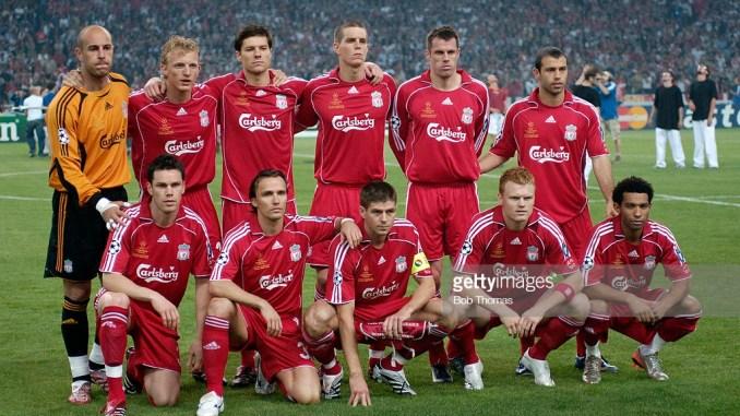 Liverpool - Chelsea semifinales de Champions League del 2007.