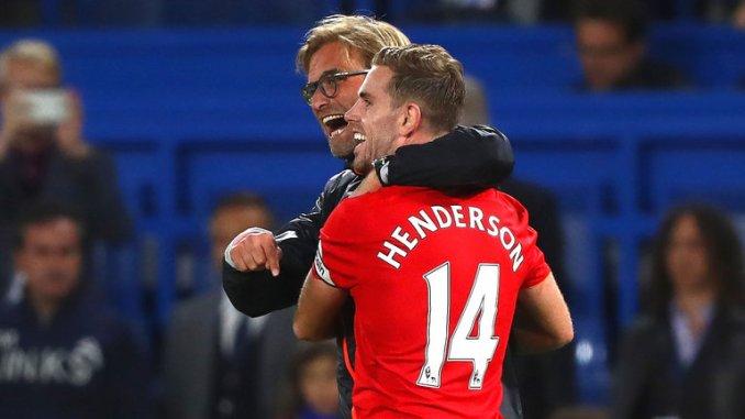 Jürgen Klopp ha sorprendido a todos dejando a Henderson en el banquillo