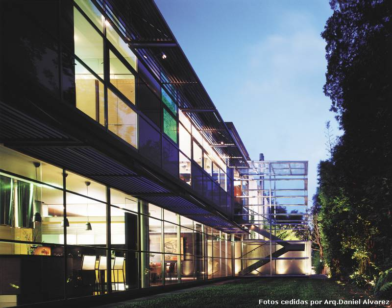 La casa de cristal  Casas  EspacioyConfort  Arquitectura y decoracin