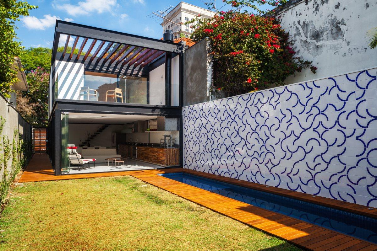 Centralidad del jardn  Casas  EspacioyConfort