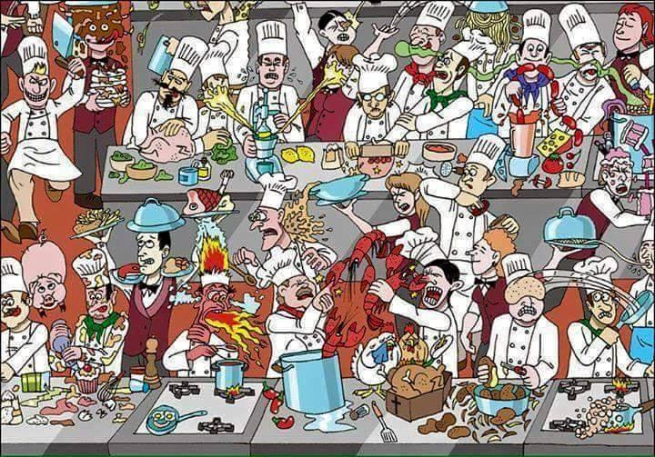 O lado sem glamour da gastronomia