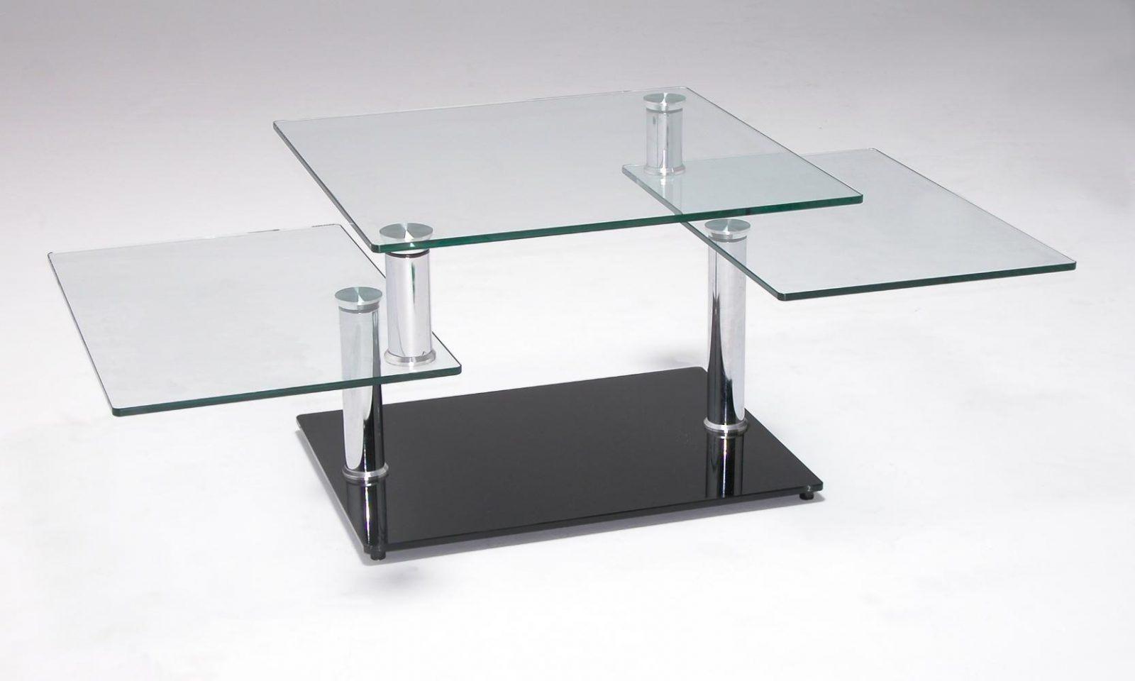 Mesa de centro moderna de vidro  Fotos e imagens