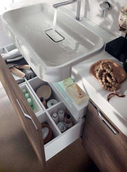 Mveis de casa de banho modernos Blu Scavolini  Fotos e