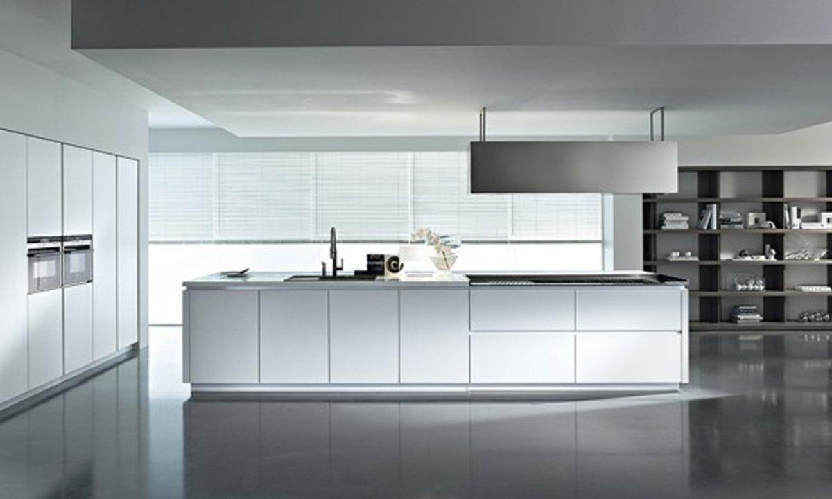 Mveis de cozinha modernos brancos  Fotos e imagens
