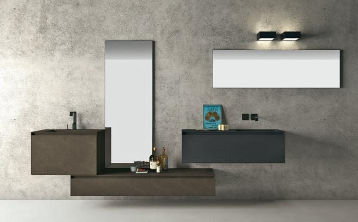 Mveis modernos para a casa de banho da Altamarea  Fotos