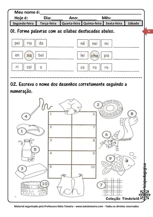 CH-CADERNO-DE-ATIVIDADES-DIGRAFOS-page-036-724x1024 Ortografia X ou CH com interpretação de texto