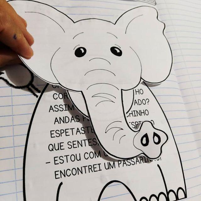 elefantinho-1 Poema interativo O elefantinho letra maiúscula
