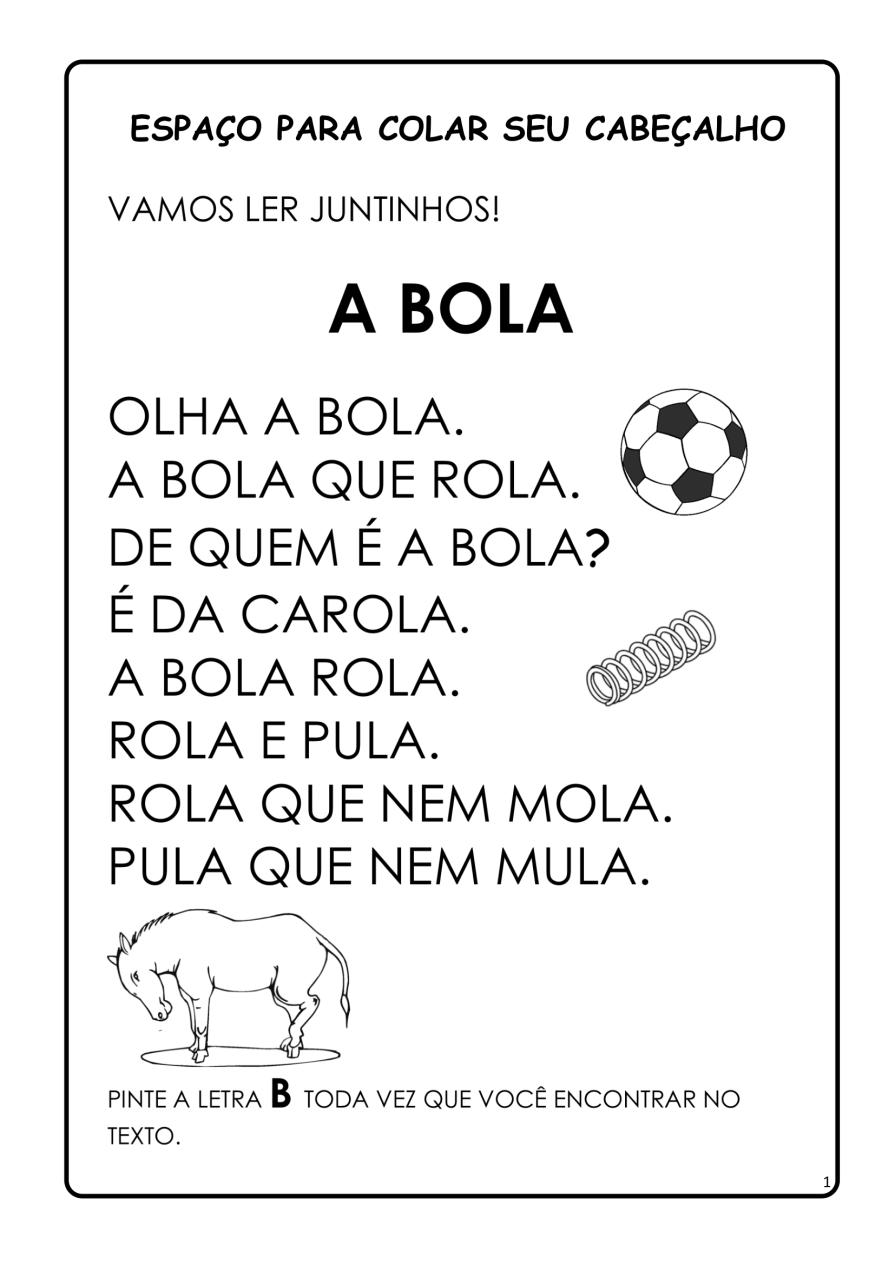 APOSTILA-DE-ALFABETIZAÇÃ-PARA-BAIXAR-01 14 Atividades de alfabetização letra B