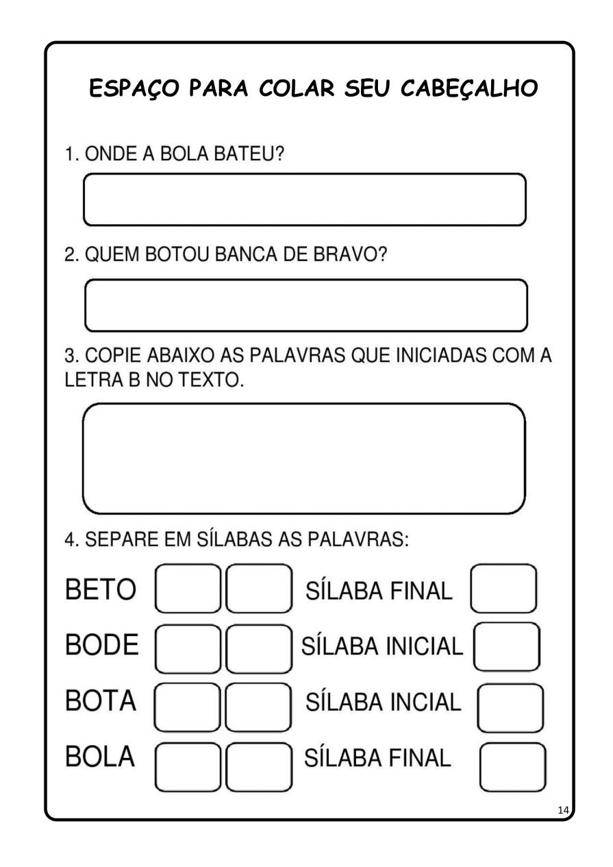 APOSTILA-DE-ALFABETIZAÇÃ-PARA-BAIXAR-14 14 Atividades de alfabetização letra B