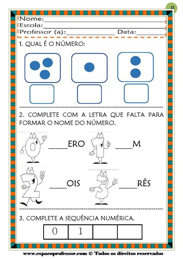 CADERNO-1-NUMEROS-DE-0-A-9-page-012 50 atividades de matemática  educação infantil