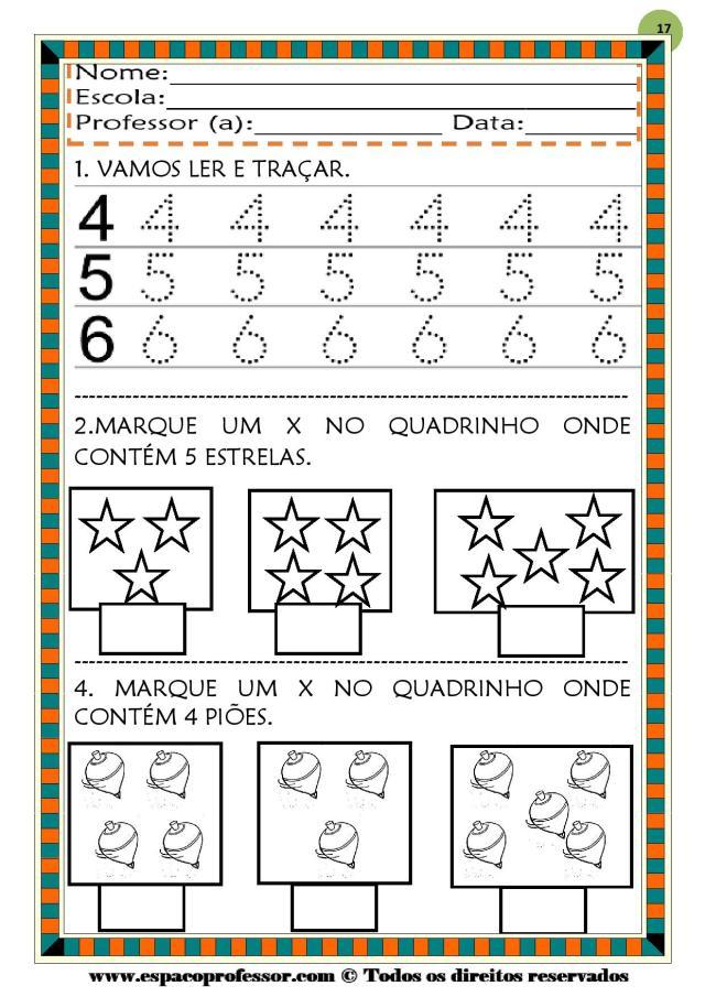 CADERNO-1-NUMEROS-DE-0-A-9-page-017 50 atividades de matemática  educação infantil