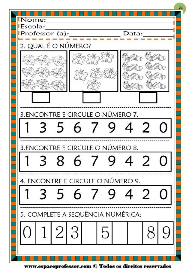 CADERNO-1-NUMEROS-DE-0-A-9-page-021 50 atividades de matemática  educação infantil