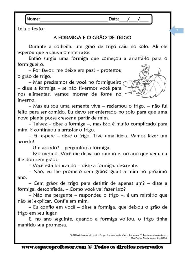 Caderno-de-Leitura-e-Interpretação-de-textos-ciclo-complementar-page-007 20 Atividades de leitura e interpretação para o 5º ano