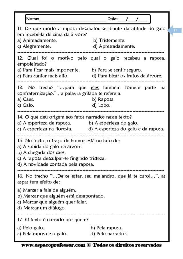 Caderno-de-Leitura-e-Interpretação-de-textos-ciclo-complementar-page-011 20 Atividades de leitura e interpretação para o 5º ano