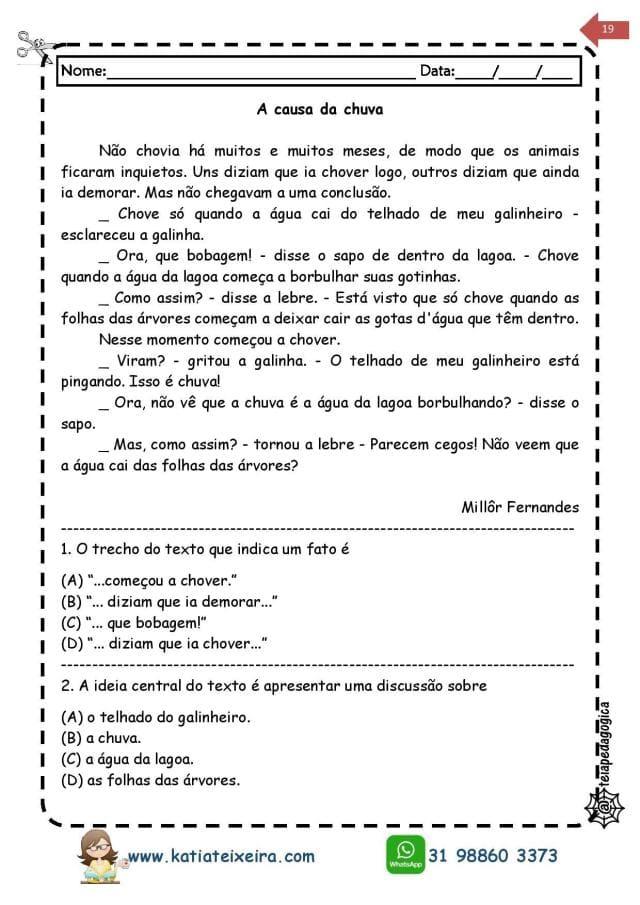 Novo-caderno-Leitura-e-interpreta-4-e-5-page-019 20 Atividades de leitura e interpretação para o 5º ano