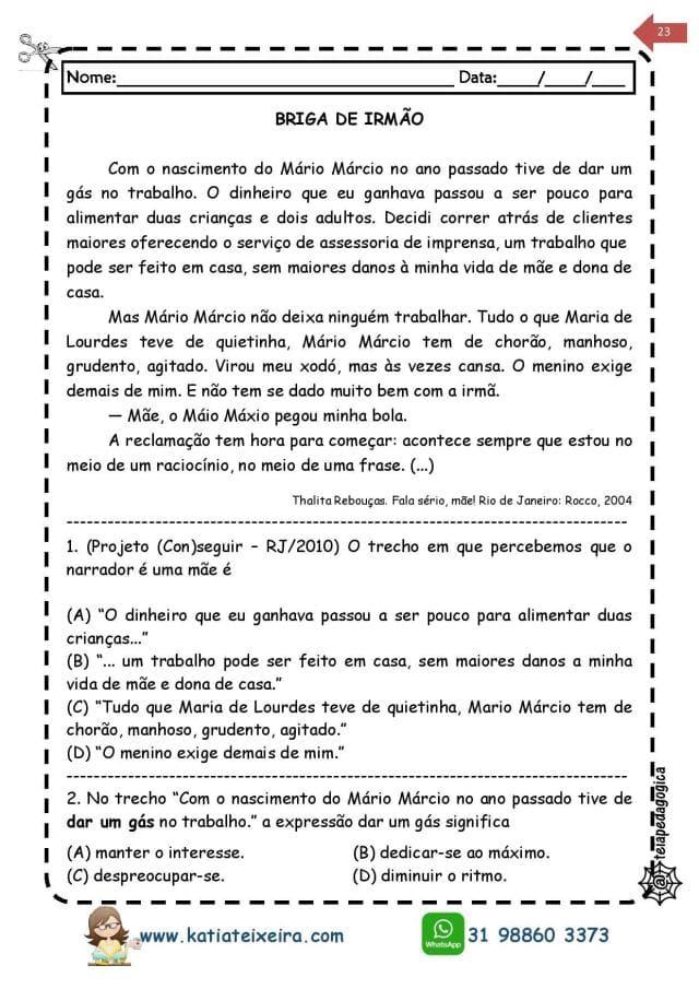 Novo-caderno-Leitura-e-interpreta-4-e-5-page-023 20 Atividades de leitura e interpretação para o 5º ano