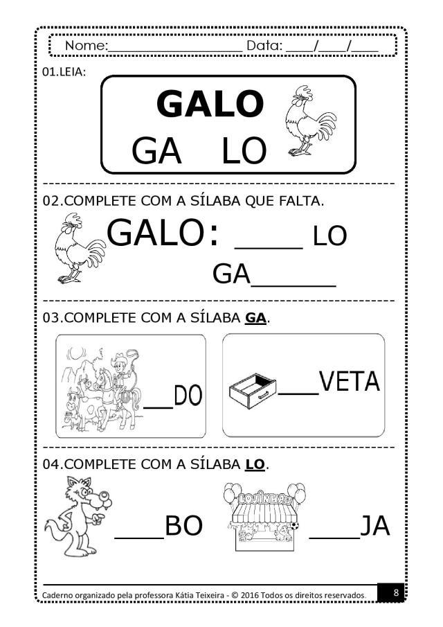 PROJETO-DE-AL-PALAVRA-GATO-page-008 Atividades para baixar projeto de alfabetização palavra  gato