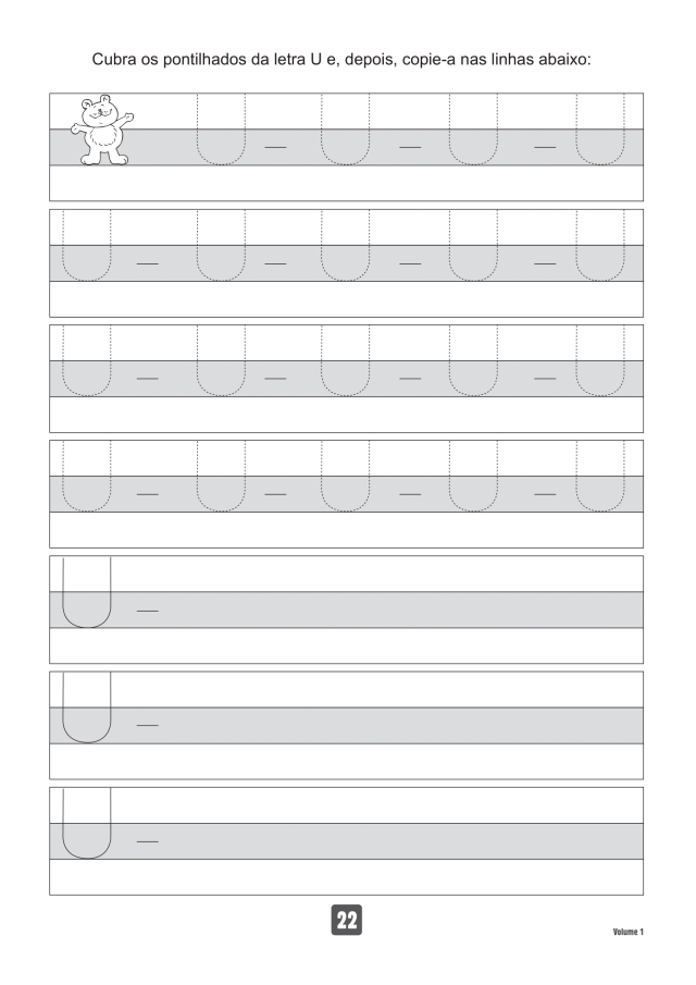 VOLUME1-22 49 Atividades de caligrafia letra bastão