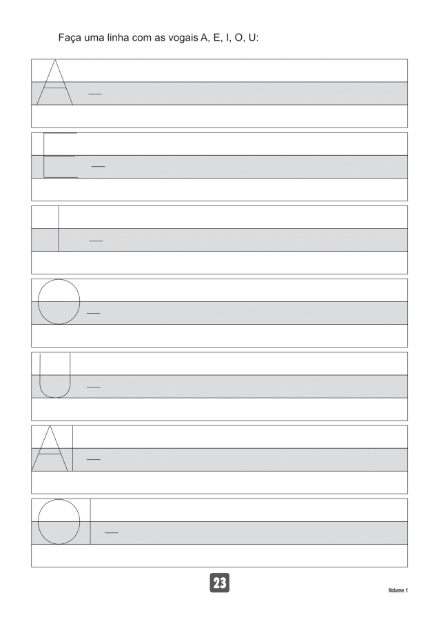 VOLUME1-23 49 Atividades de caligrafia letra bastão