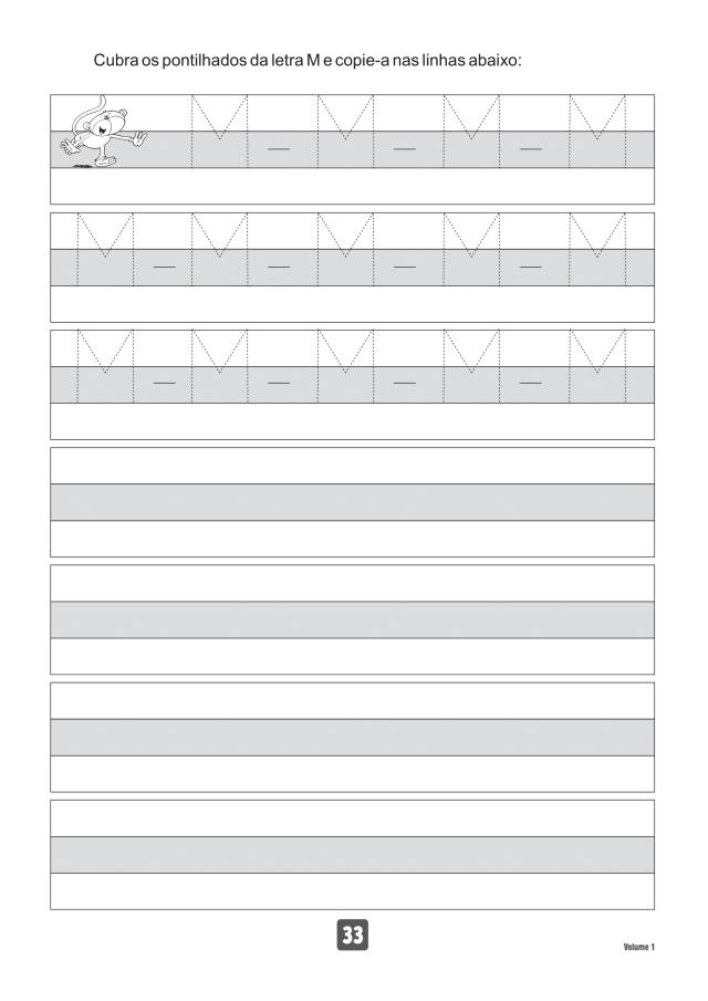 VOLUME1-33 49 Atividades de caligrafia letra bastão