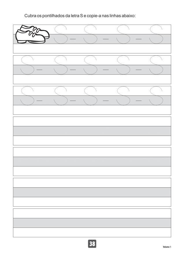 VOLUME1-38 49 Atividades de caligrafia letra bastão