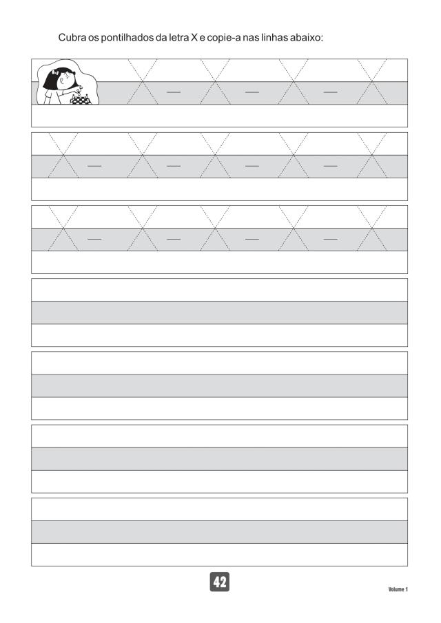 VOLUME1-42 49 Atividades de caligrafia letra bastão