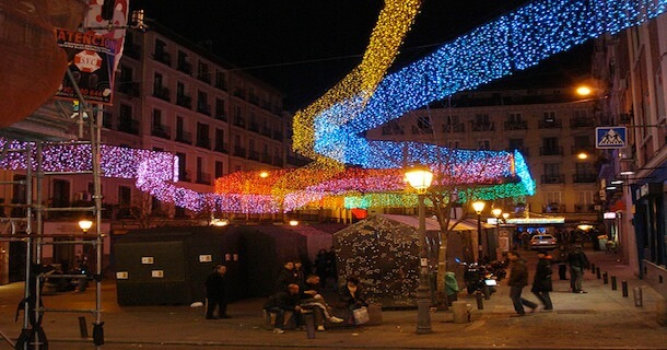Voici Les Dates Des Illuminations De Nol Madrid 2018