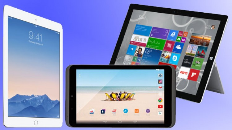 Guía de compras Navideñas de Tablets Android, iPad y Windows