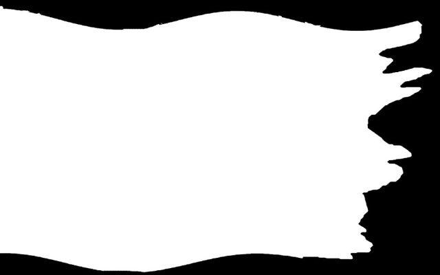 El mapa cumple el requisito de contener los colores blanco y negro.