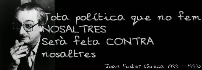 JOAN FUSTER ESCRITS DE COMBAT
