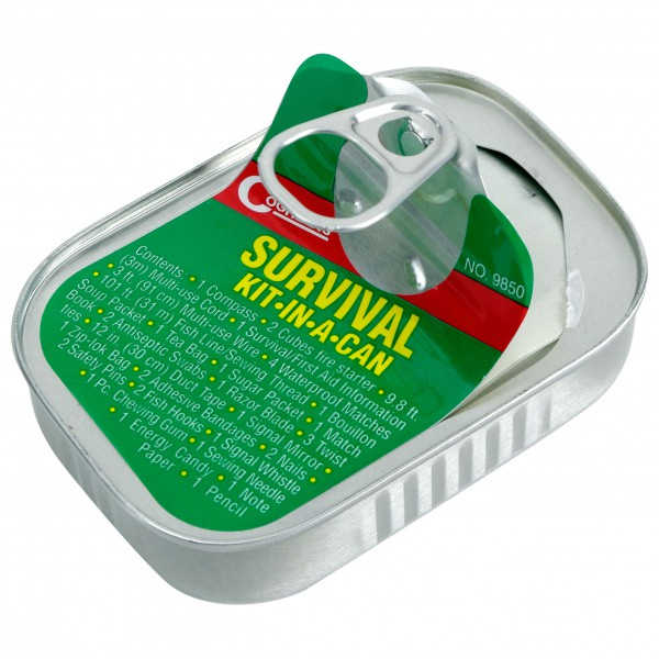 COGHLANS - Survival Kit - Petita Farmaciola en Llauna