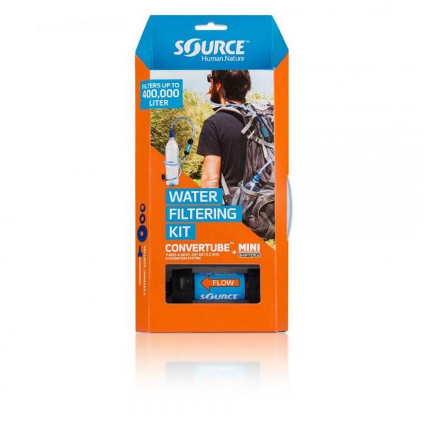 trail running SOURCE - Convertube + Sawyer Filter